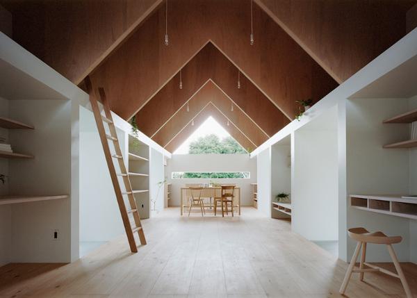 10 casas japonesas minimalistas intemporales y funcionales faircompanies - Danish style house plans modern shaped tradition ...