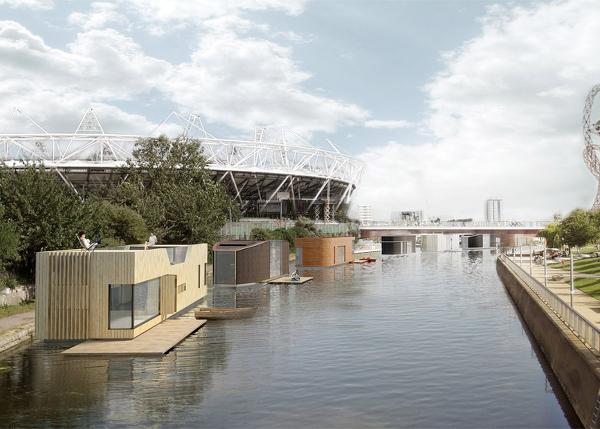 Arquitectura flotante casas baratas adaptables y m viles faircompanies - Shipping container homes el tiemblo spain ...