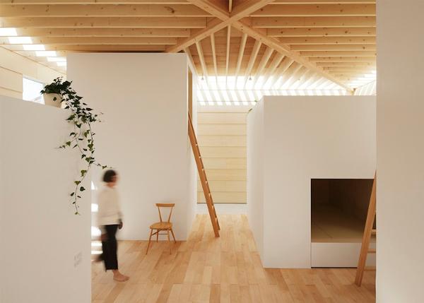 10 casas japonesas minimalistas intemporales y. Black Bedroom Furniture Sets. Home Design Ideas
