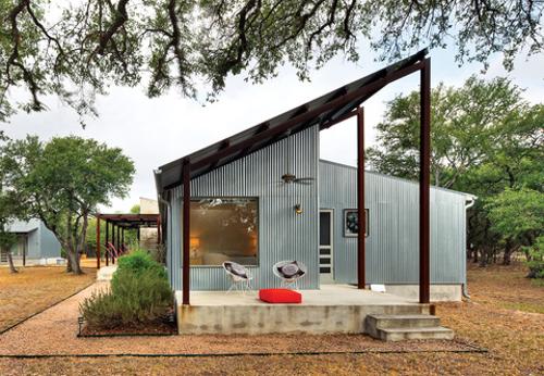 10 Casas De Metal Corrugado Simple Barato Durable