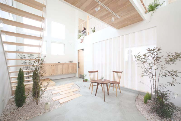 casa con jardn zen interior kofunaki house por alts design office
