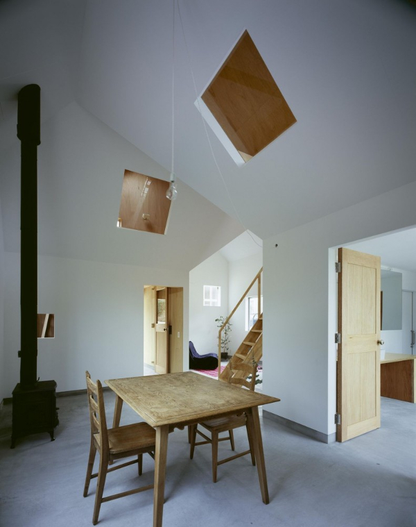 10 casas japonesas minimalistas intemporales y for Casa minimalista economica