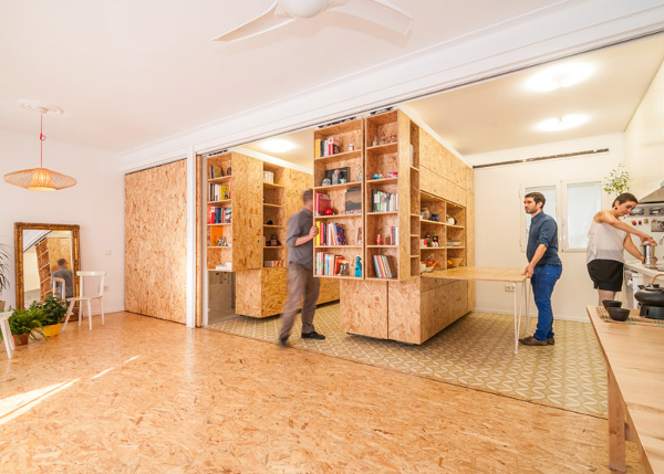 Muebles-apartamento: todo lo básico en un mueble convertible ...