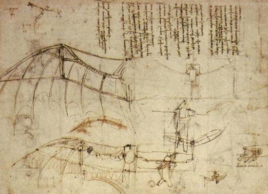 Máquinas de volar de Leonardo: \