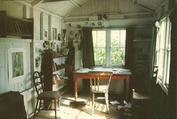 Espacio y obra: las cabañas de trabajo de 10 escritores ...