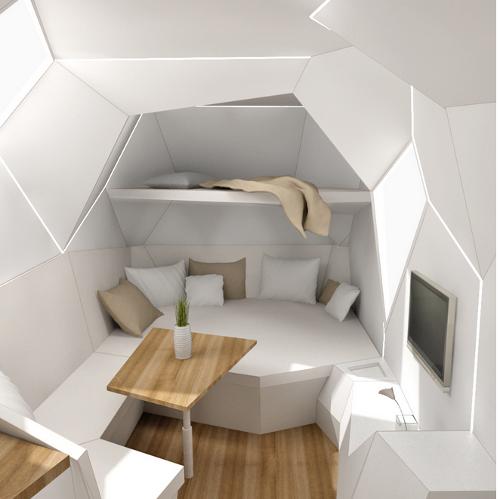 10 caravanas del futuro viviendas temporales y de recreo - Interiores de caravanas ...