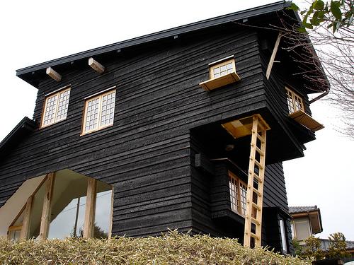 Casas De Madera Negras